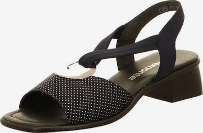 REMONTE Sandale in nachtblau / weiß, Produktansicht