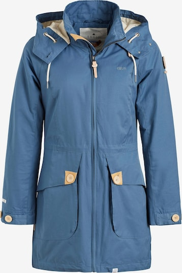 khujo Mantel ' MAHSA ' in blau, Produktansicht