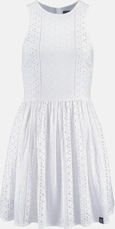 Superdry Kleid in offWeiß  Großer Rabatt