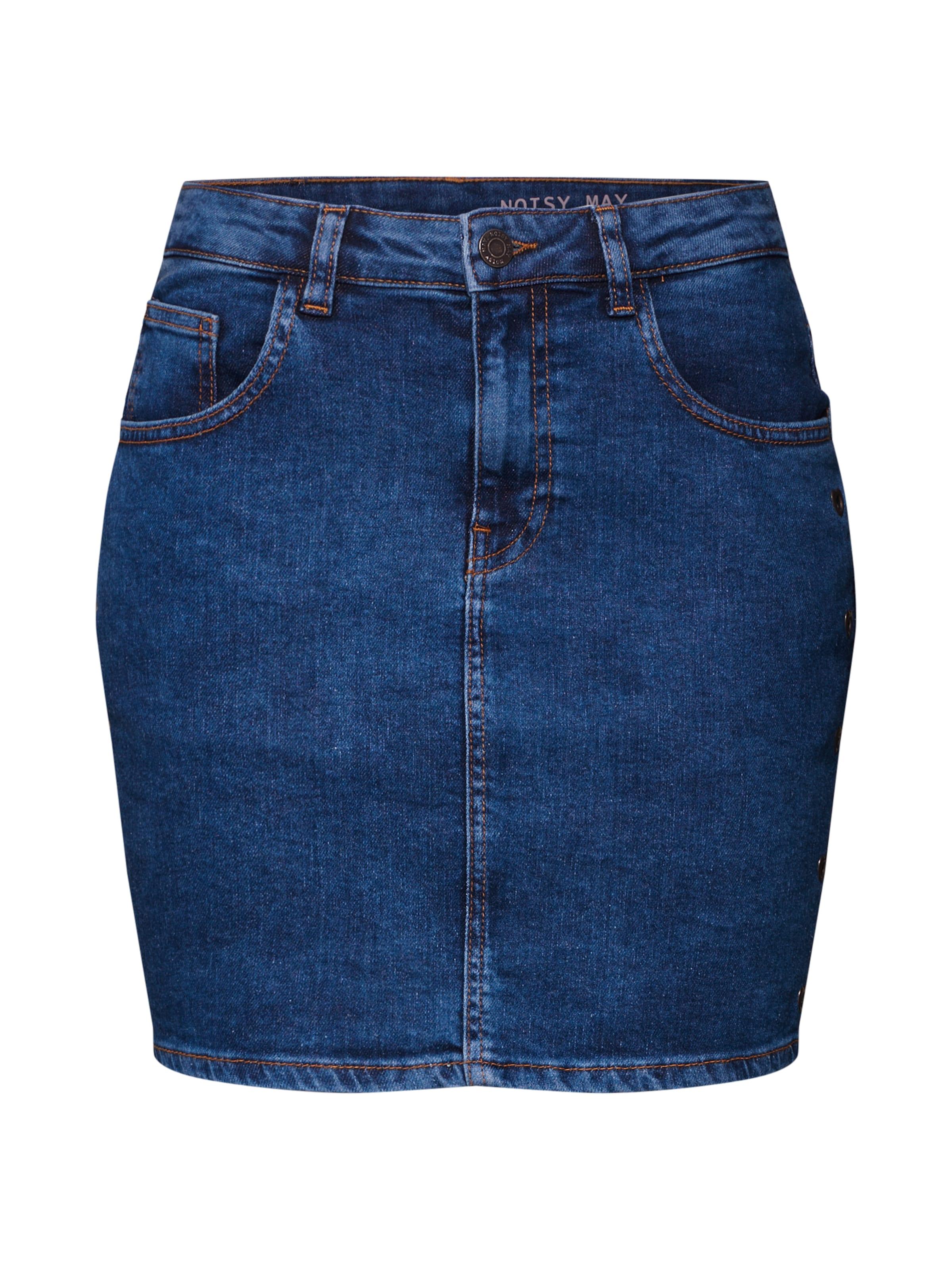 Bleu Jupe 'nmnicole' En May Denim Noisy R354ALqj