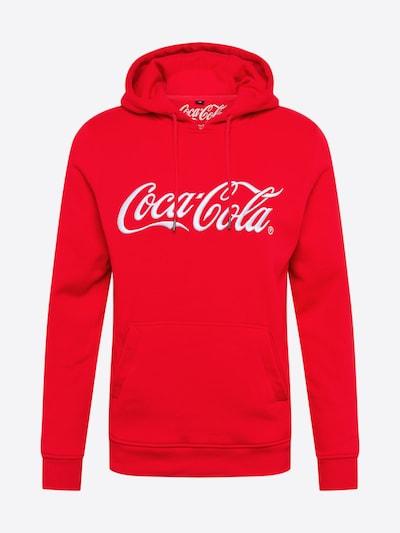 Mister Tee Sweat-shirt 'Coca Cola' en rouge / blanc, Vue avec produit