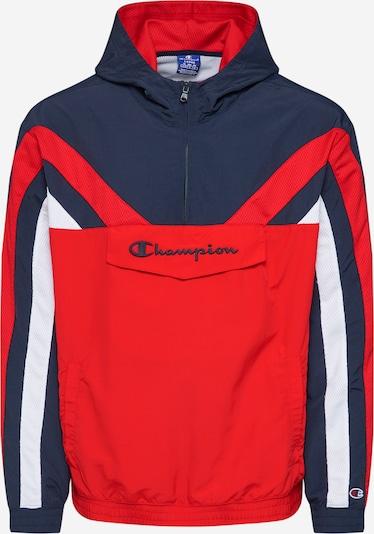 Champion Authentic Athletic Apparel Prijelazna jakna u mornarsko plava / crvena / bijela, Pregled proizvoda