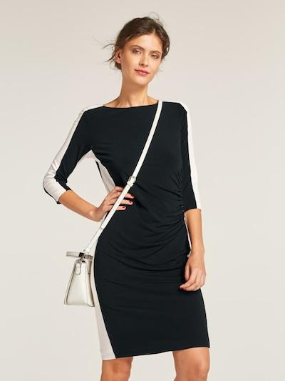 heine Šaty - černá / bílá, Model/ka
