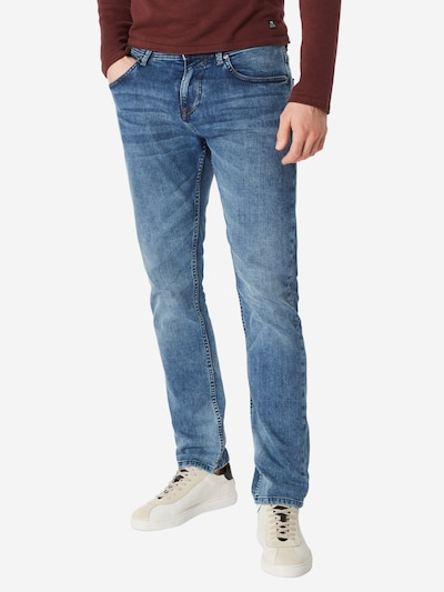 TOM TAILOR DENIM Jeans 'Piers' in de kleur Blauw denim, Modelweergave