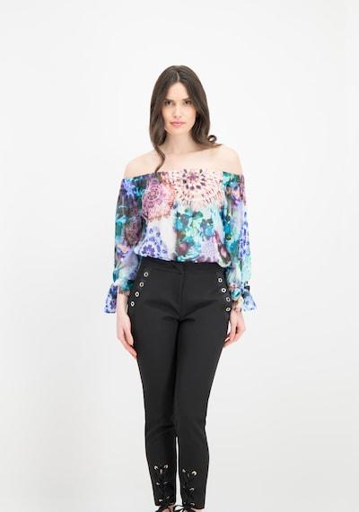 Nicowa Hose in schwarz, Modelansicht