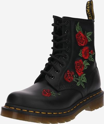 Dr. Martens Stiefel '8 Eye Boot 1460 Embroidery' in schwarz, Produktansicht