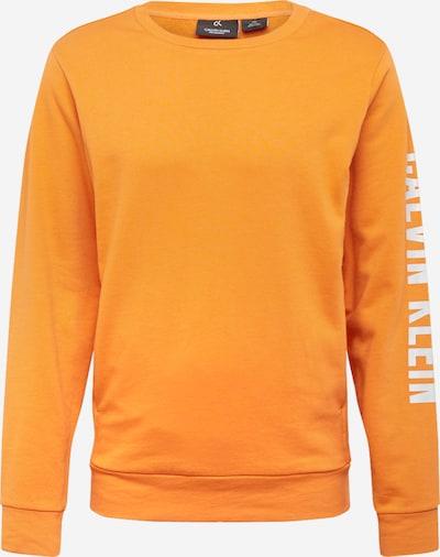 Calvin Klein Performance Sporta svīteris oranžs / balts, Preces skats
