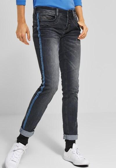 STREET ONE Jeans 'Crissi' in azur / hellblau / dunkelblau / grey denim, Modelansicht