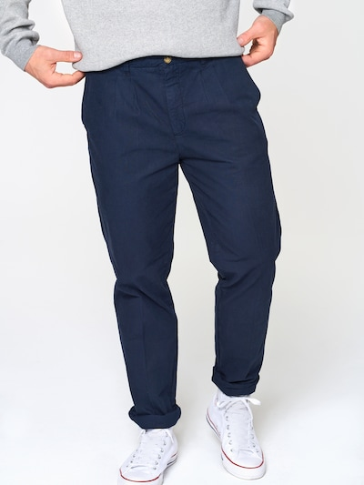 ABOUT YOU x Magic Fox Chino 'Anton' in de kleur Navy, Modelweergave