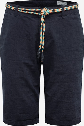 TOM TAILOR DENIM Chinoshorts in grau, Produktansicht