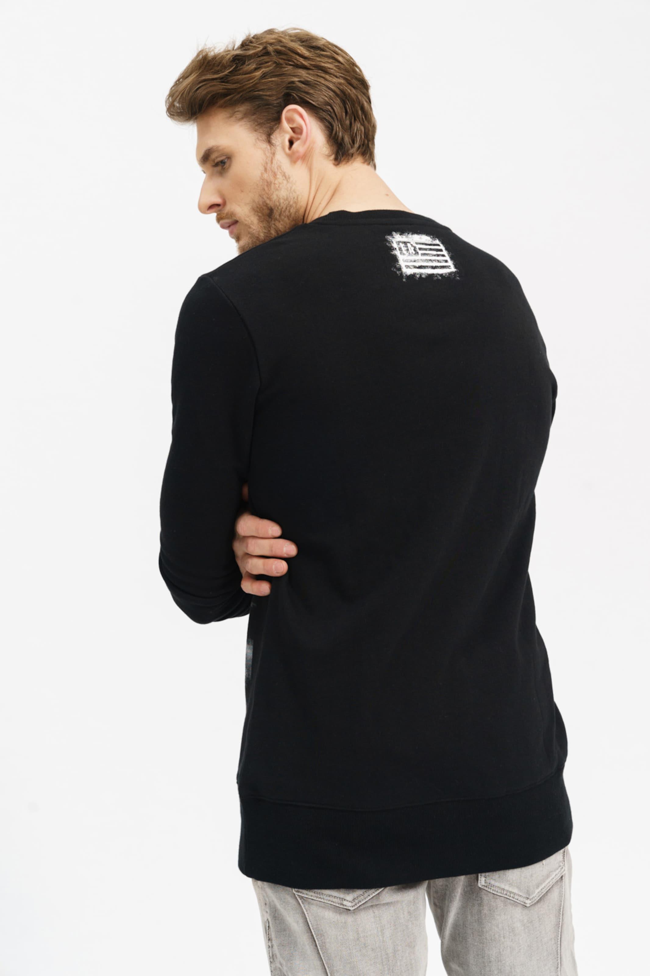 'khal' In Trueprodigy Langarmshirt SchwarzWeiß iXOZPkuT