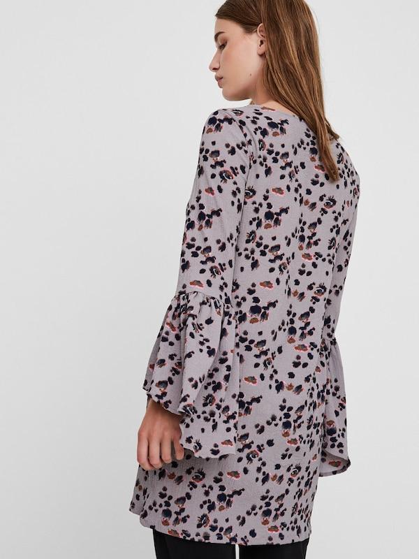 VERO MODA Rüschenärmel-Kleid
