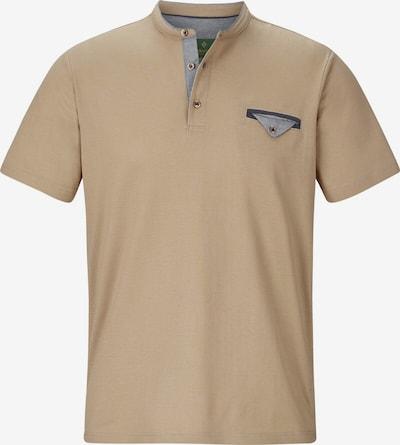 Charles Colby T-shirt 'Sadwyn' in hellbeige / navy / taubenblau, Produktansicht