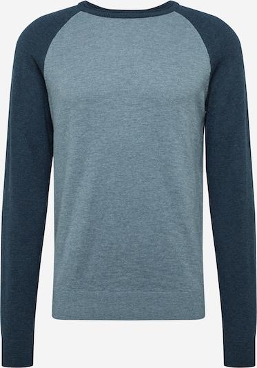 SELECTED HOMME Pulover 'COMRAD' | svetlo modra / temno modra barva, Prikaz izdelka