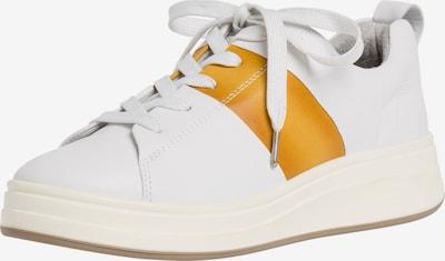 TAMARIS Baskets basses en cognac / blanc, Vue avec produit