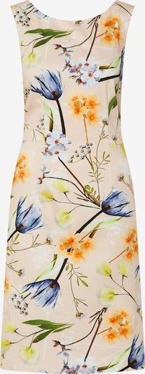 COMMA Robe d'été en mélange de couleurs, Vue avec produit