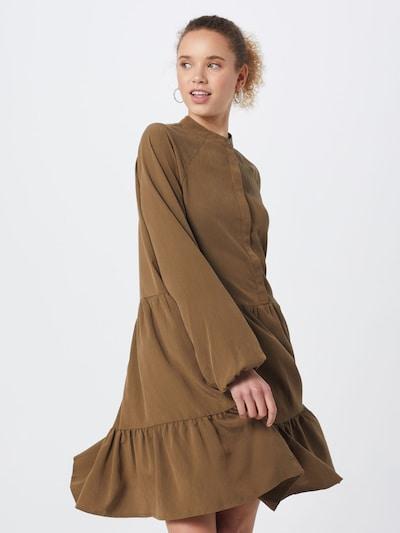mbym Kleid  'Marranie' in braun, Modelansicht