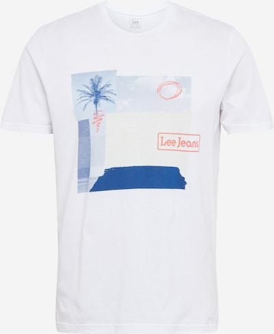 Lee Shirt 'BOTANICAL' in mischfarben / weiß, Produktansicht