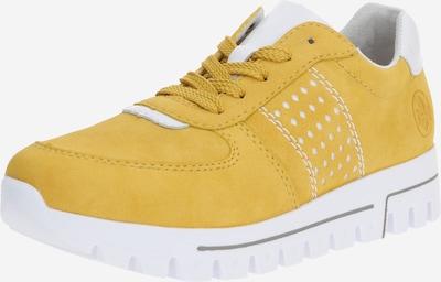 RIEKER Sneaker in senf / weiß, Produktansicht