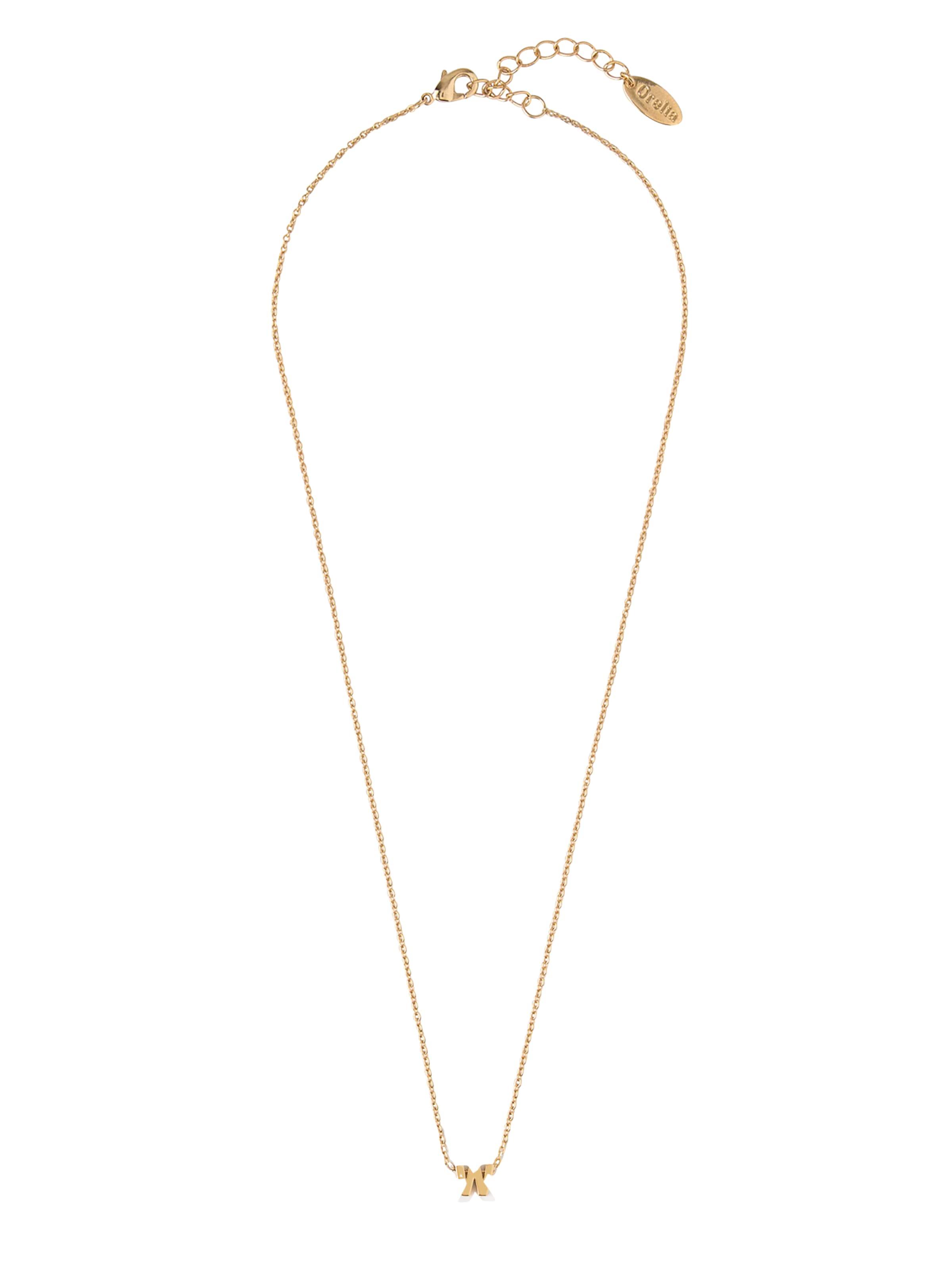 Initial Mint 'gp Orelia Kette In Gold Nl' trxshQdC