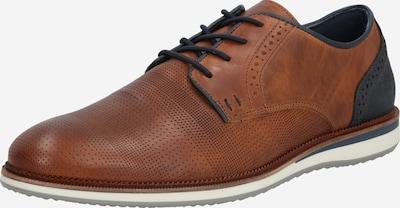 BULLBOXER Cipele na vezanje u konjak / crna, Pregled proizvoda