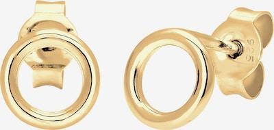 ELLI Ohrringe 'Kreis' in gold, Produktansicht