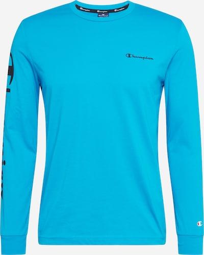 Champion Authentic Athletic Apparel T-Shirt en bleu clair, Vue avec produit