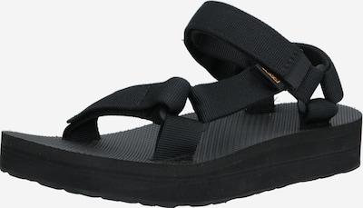 TEVA Sandales en noir, Vue avec produit