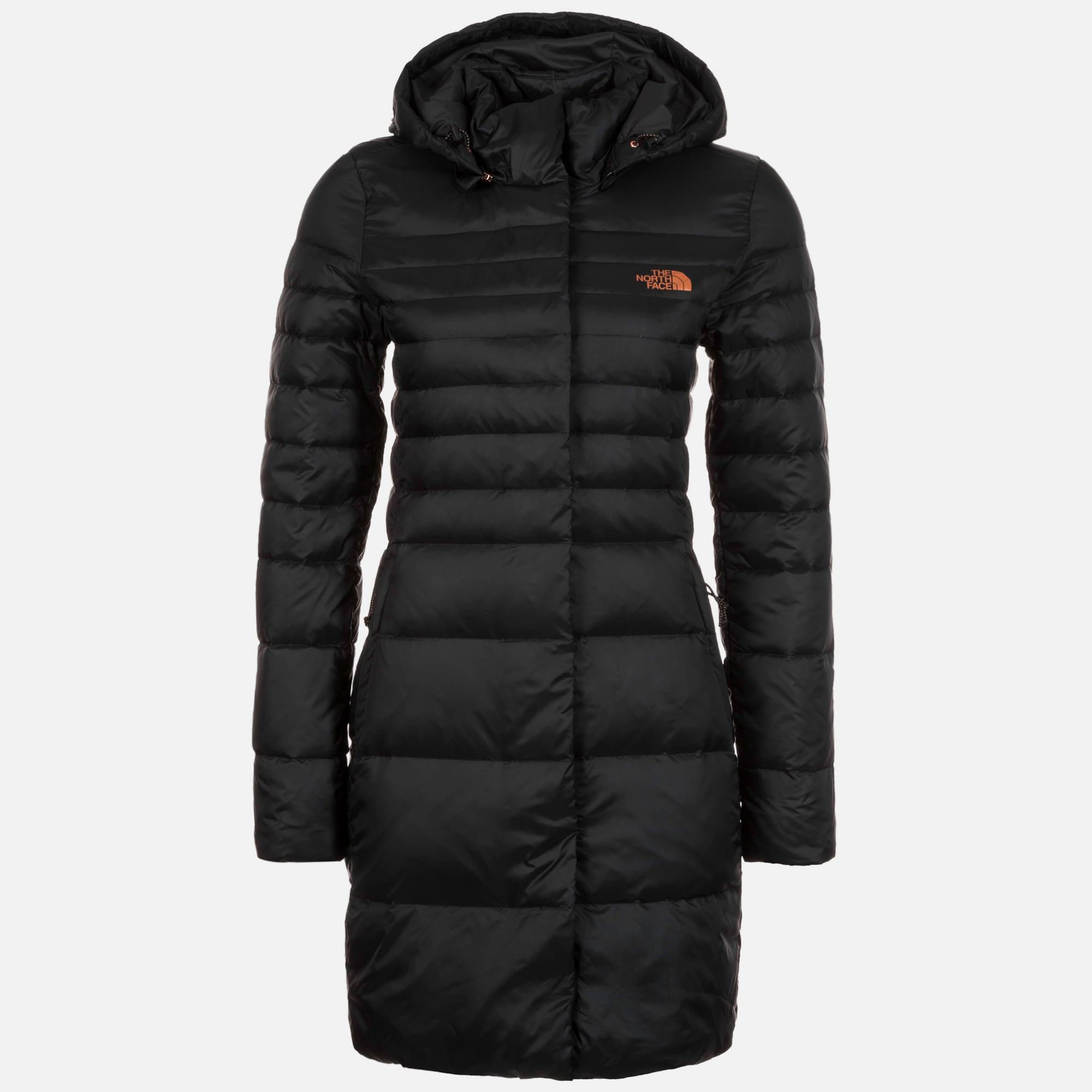 the north face daunenmantel 39 kings canyon parka 39 in schwarz about you. Black Bedroom Furniture Sets. Home Design Ideas