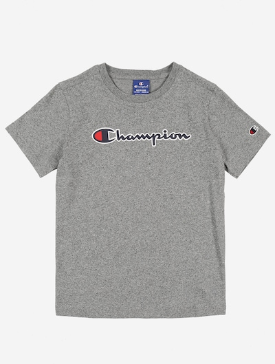 Champion Authentic Athletic Apparel T-Shirt en gris chiné: Vue de face