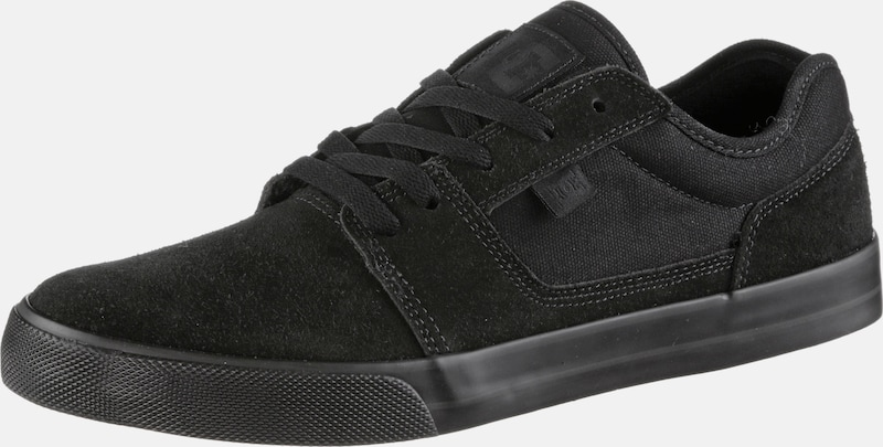 DC Shoes Sneaker 'TONIK' in schwarz: Frontalansicht