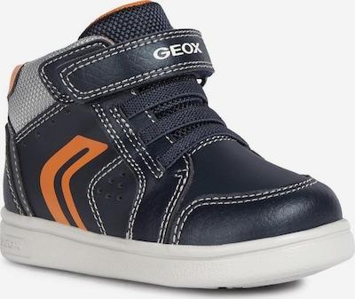 GEOX Kids Sneaker in navy / orange, Produktansicht