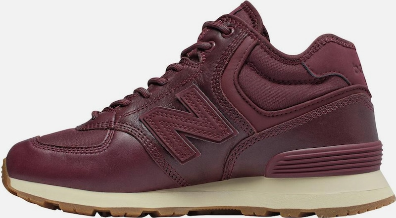 new balance Sneaker 'WH 574' in bordeaux: Frontalansicht