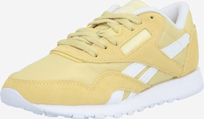 Reebok Classic Sneakers laag in de kleur Mosterd / Wit, Productweergave