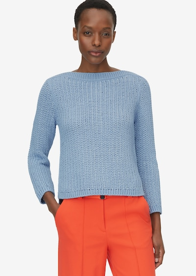 Marc O'Polo Pure Pullover in hellblau, Modelansicht