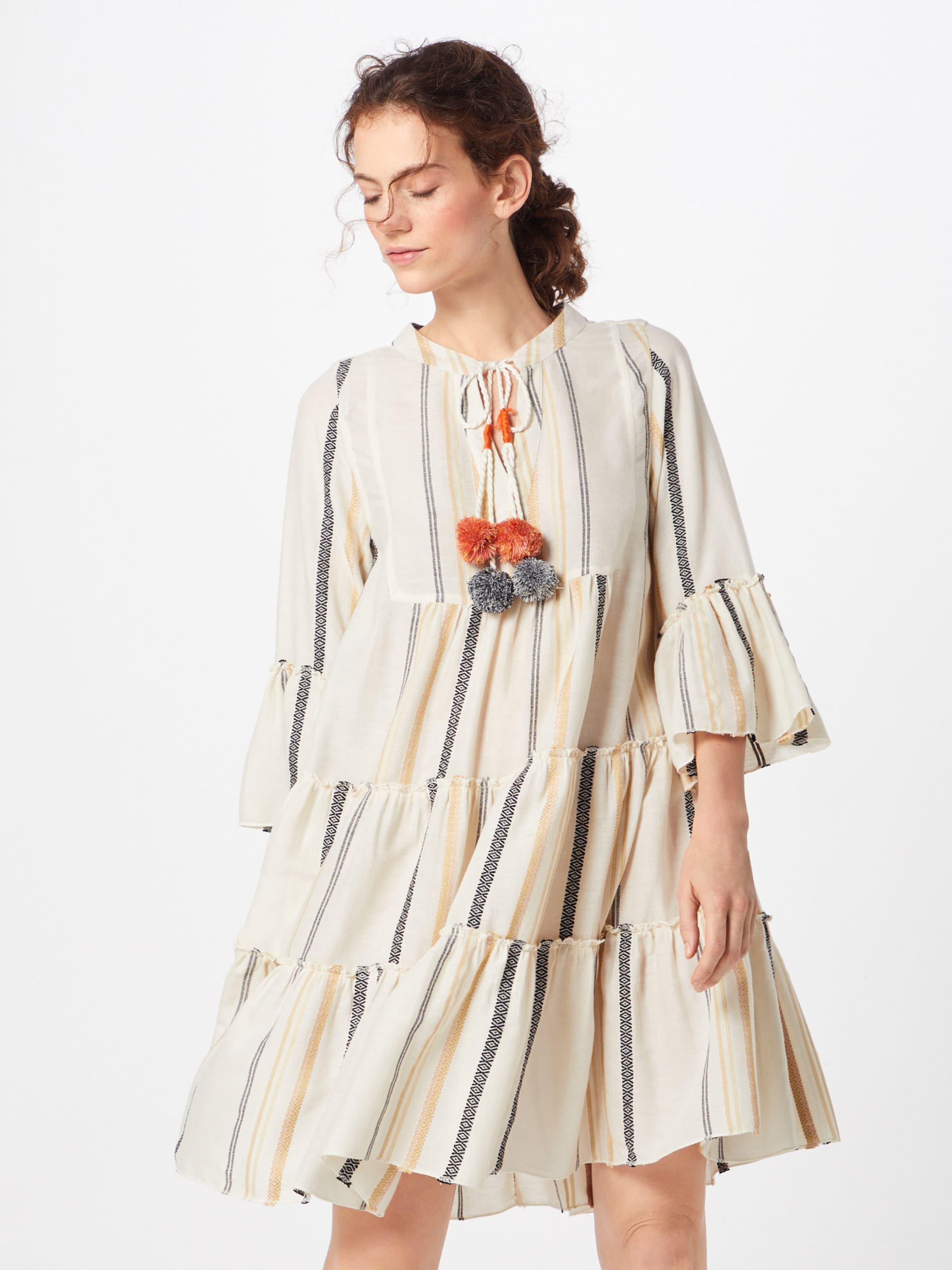 Offwhite In Buddha Funky Kleid AnthrazitHellorange rBxodCe