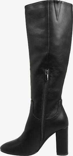 ABOUT YOU Stiefel 'Verehna' in schwarz: Seitenansicht