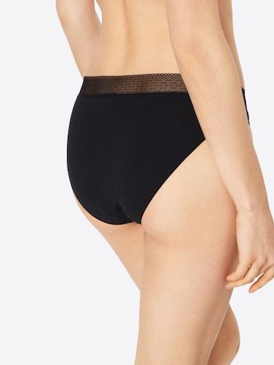 Skiny 'Advantage   Lace Rio' Slip in schwarz: Rückansicht