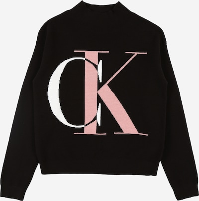 Calvin Klein Jeans Pullover 'OCO EXPLODED MONOGRAM' in rosa / schwarz / weiß, Produktansicht