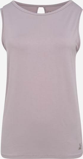 CURARE Yogawear Top 'twisted back' in rosa, Produktansicht