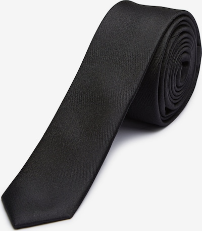 SELECTED HOMME Cravate en noir, Vue avec produit