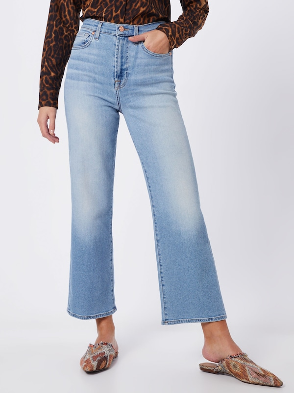 7 for all mankind Jeans 'Alexa' in hellblau, Modelansicht