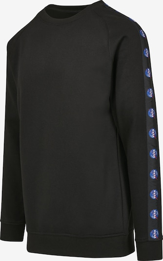 Mister Tee Sweatshirt in blau / schwarz, Produktansicht
