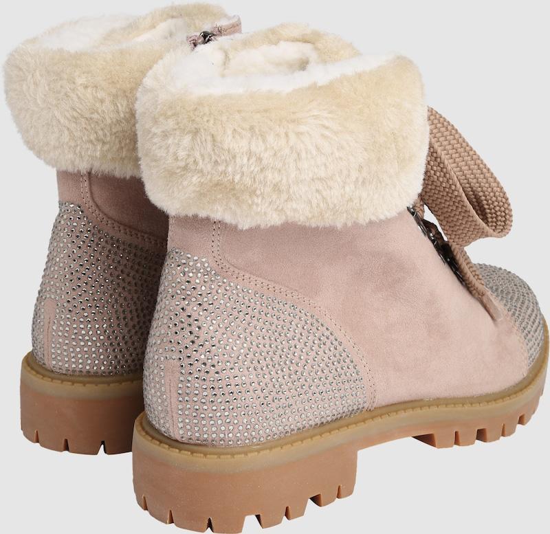 TAMARIS Felloptikschaft Schnürstiefeletten mit Felloptikschaft TAMARIS Verschleißfeste billige Schuhe 8e58e5