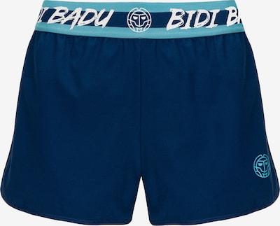 BIDI BADU Shorts 'Raven Tech' in türkis / dunkelblau / weiß, Produktansicht