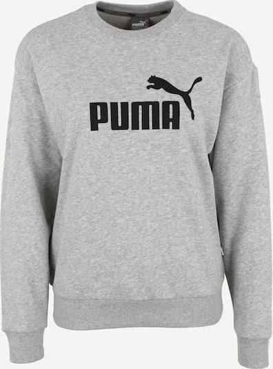szürke melír / fekete PUMA Sport szabadidős felsők, Termék nézet