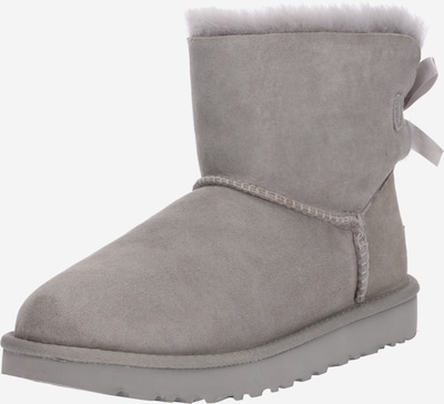 UGG Boots 'Mini Bailey Bow II' in grau: Frontalansicht