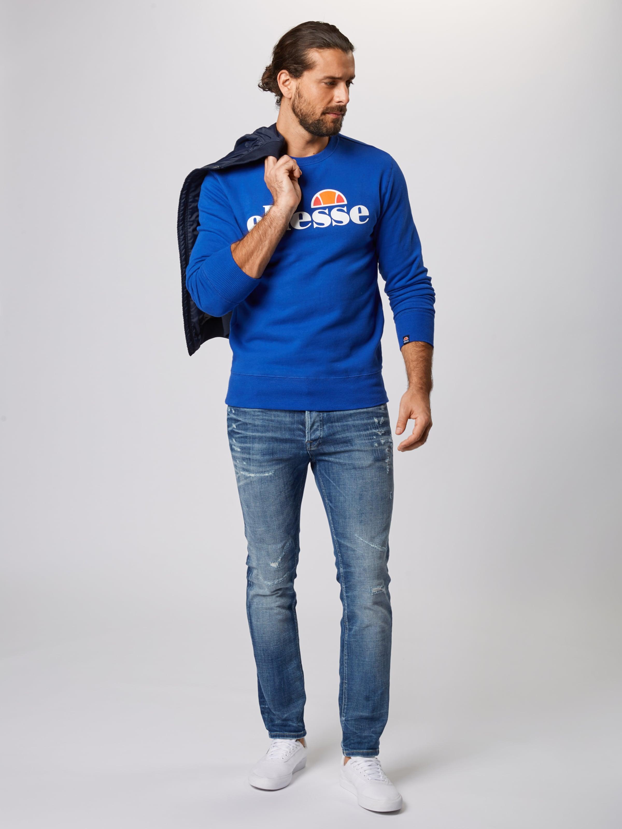 'small Succiso' Blau In Ellesse Logo Sweatshirt OknwP0