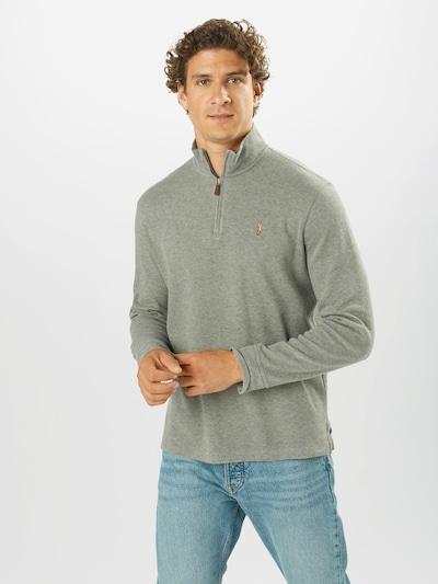 POLO RALPH LAUREN Pullover in graumeliert: Frontalansicht