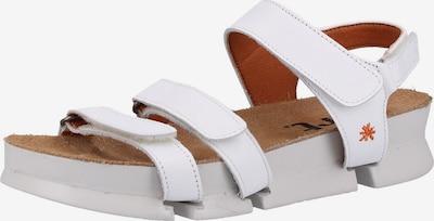 ART Sandalen met riem in de kleur Wit, Productweergave